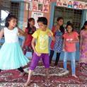 Tanz- und Musikunterricht in unserem sich selbsterhaltenden Waisenhaus in Annapurna