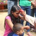 Feste feieren im Kinderheim in Bhaktapur