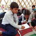 Unterricht in sicheren provisorischen Schulräumen