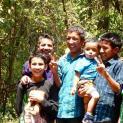 Ein Ausflug mit den Kindern an einem Feiertag